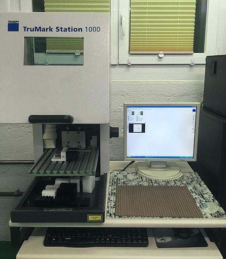 Trumpf TruMark - Maschine für Laserbeschriftung